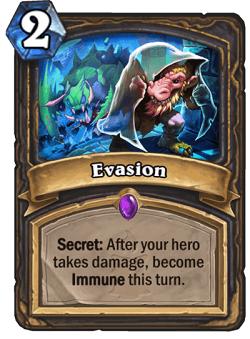 Evasion HS Rogue Secret Card