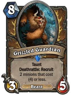 Grizzles Guardian HS Druid Card