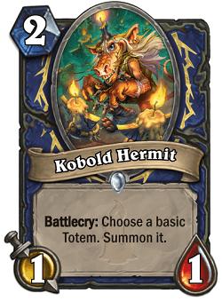 Kobold Hermit HS Shaman Card