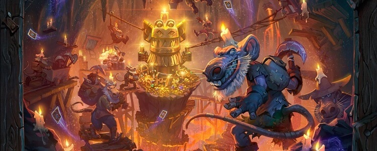 Kobolds and Catacombs Hearthstone Art