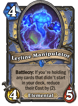 Leyline Manipulator HS Mage Card