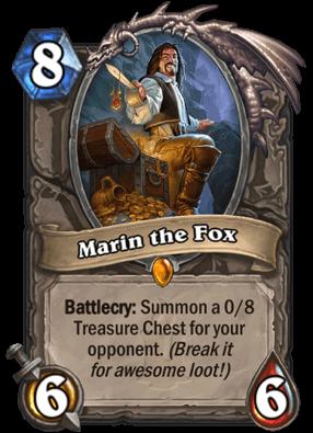 Marin The Fox HS Card
