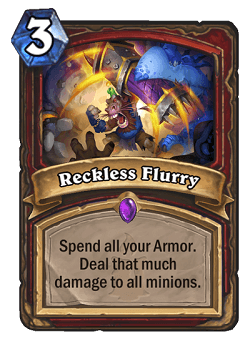 Reckless Flurry HS Warrior Card