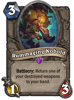 Rummaging Kobold HS Card