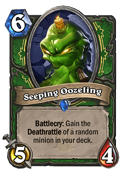 Seeping Oozeling HS Hunter Card