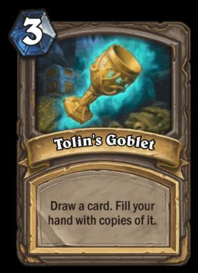 Tolins Goblet HS Card