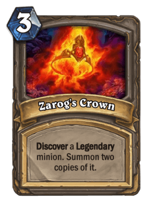 Zarogs Crown HS Card