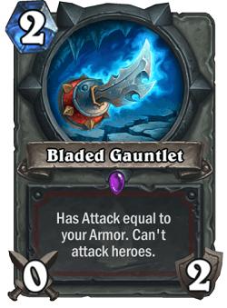 Bladed Gauntlet HS Warrior Card