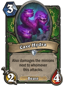 Cave Hydra HS Hunter Card