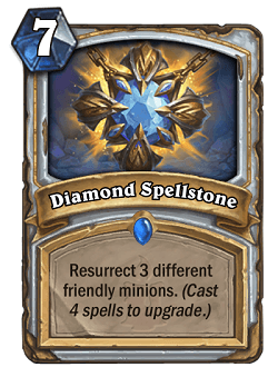 Diamond Spellstone HS Priest Card