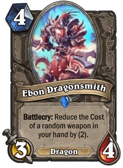 Ebon Dragonsmith HS Card