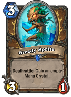 Greedy Sprite HS Druid Card