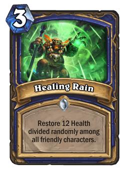Healing Rain HS Shaman Card