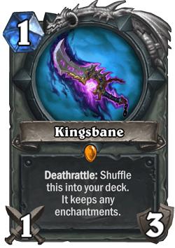 Kingsbane HS Rogue Legendary Card