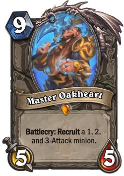 Master Oakheart HS Card