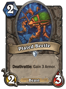 Plated Beetle HS Card