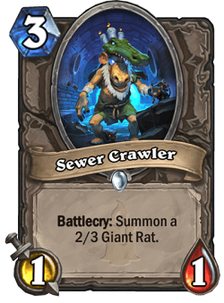Sewer Crawler HS Card