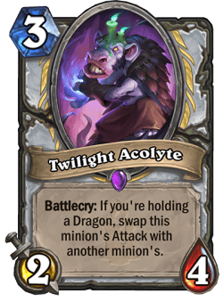 Twilight Acolyte HS Priest Card