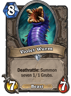 Violet Wurm HS Card