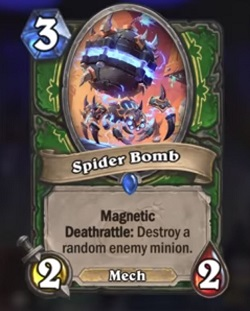 Spider Bomb Hunter HS Boomsday Card