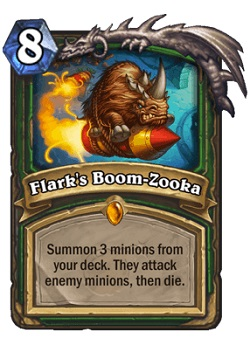 Flarks Boom-Zooka HS Hunter Legendary Card