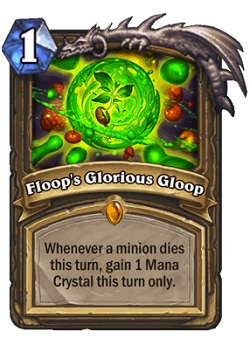 Floop's Glorious Gloop HS Druid Legendary Card