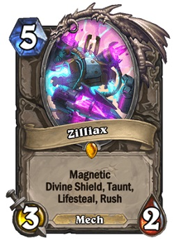 Zilliax HS Legendary Card