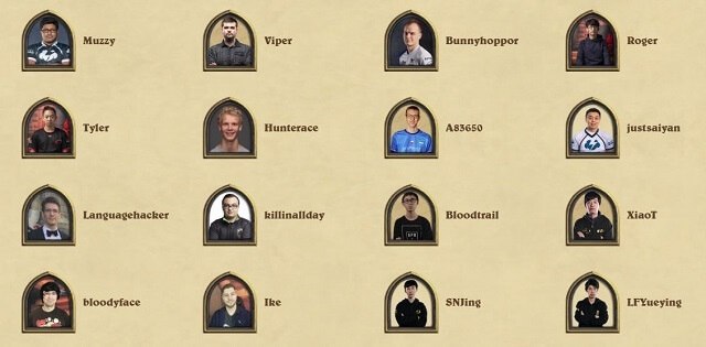 Hearthstone World Championship 2019 Players