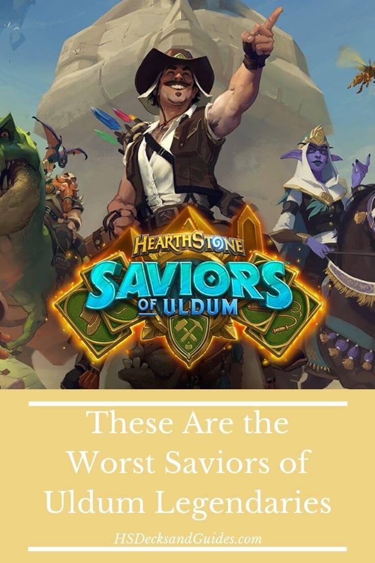 Worst Saviors of Uldum Legendaries: Safe To Dust